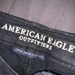 American Eagle Black Jeggings